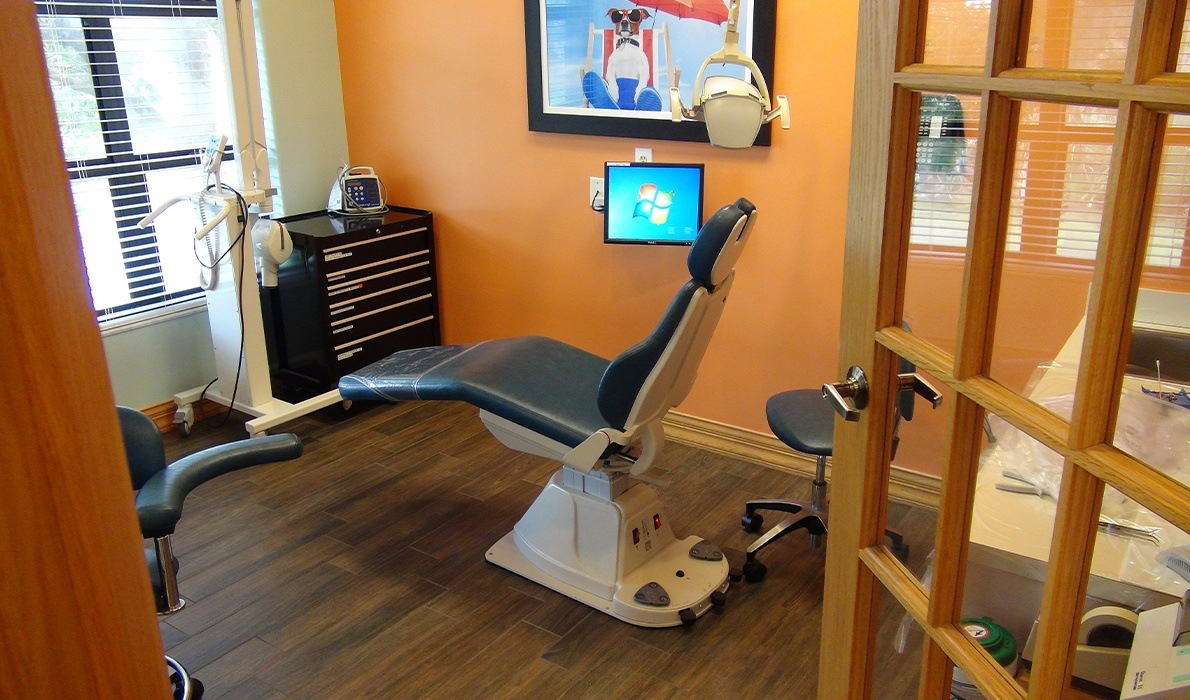 Private dental treatment room